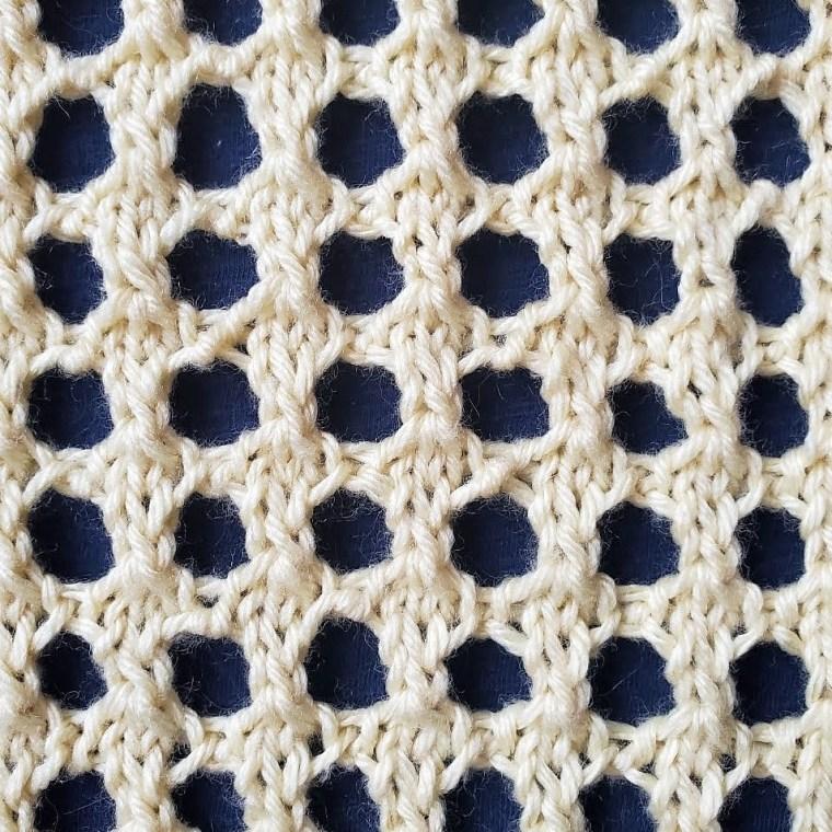Mock Crochet Stitch