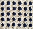 Mock Crochet Knit Stitch