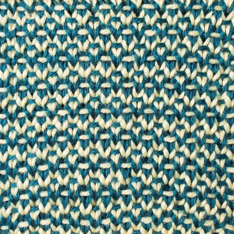 Two Color Half Linen Stitch