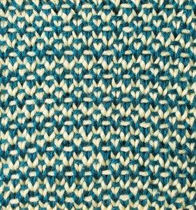 Two-Color Half Linen Stitch