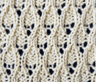 Lizard Skin Knit Stitch