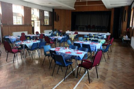 The Church Hall - capacity 100 people