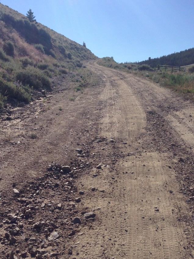 dirt roads were rough on the feet