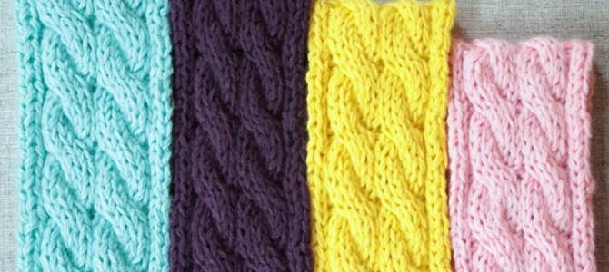 Cable Knit Ear Warmer Headband