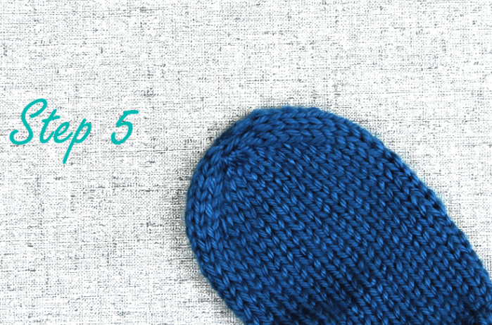 How to bind off mitten fingertips, step 5, knitting tips from Liz @PurlsAndPixels