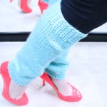 DIY Leg warmers, knitting pattern, designed by Liz Chandler @PurlsAndPixels