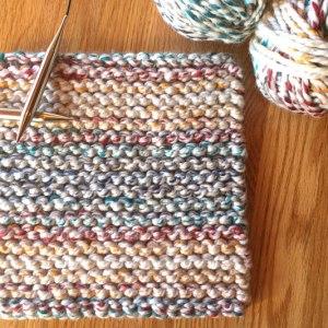 Cherry Candy Cane Potholder Easy Free Knitting Pattern