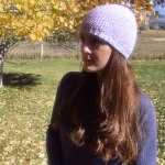Seed stitch textured beanie hat knitting pattern in all sizes from Liz @PurlsAndPixels