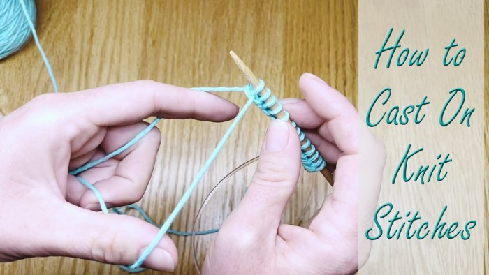 Learn how to cast on knit stitches using the long tail cast on with Liz @PurlsAndPixels.