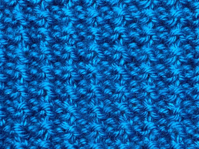 Broken Rib Stitch Back Side