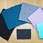 Easy seamless ear warmer knitting pattern for beginners by Liz Chandler @PurlsAndPixels.