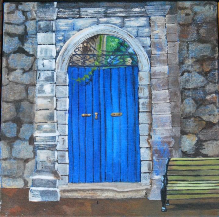 Pervin-Door-Blue
