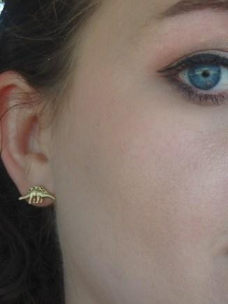 Francesca dinosaur earrings