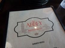Abbey Restaurant, London, KY menu