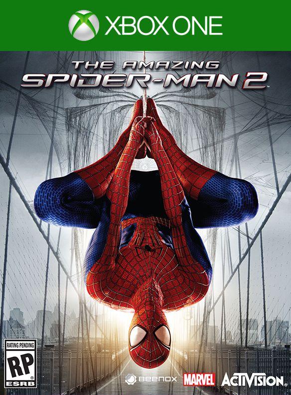 The Amazing Spider-Man 2 Box Art
