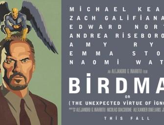 Michael Keaton é um super-herói novamente em Birdman!