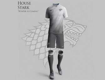 COMPRO! Uniformes de futebol inspirados em Game of Thrones