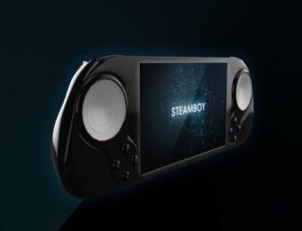 Empresa cria uma Steam Machine portátil, o SteamBoy