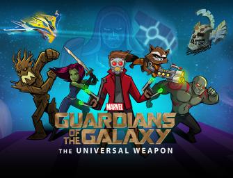 Você pediu joguinhos dos Guardiões da Galáxia?