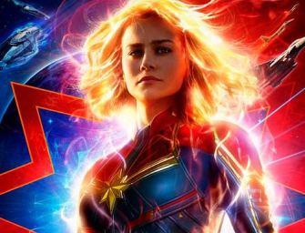 Assista agora ao novo trailer de Capitã Marvel