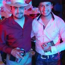 En San Juan del Río, Quéretaro Con Antonio Cerda (Voz) de Conjunto Agua Azul