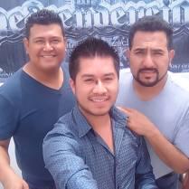 En Río Grande Zacatecas Con Jairo Chato Aranda (Bajo Sexto) y Leonardo Aranda (Voz) de La Descendencia d Río Grande y Organización Islas.
