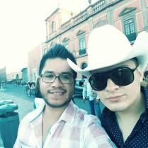 En San Luis Potosí Con Diego Ojeda (Sax) de La Zenda Norteña