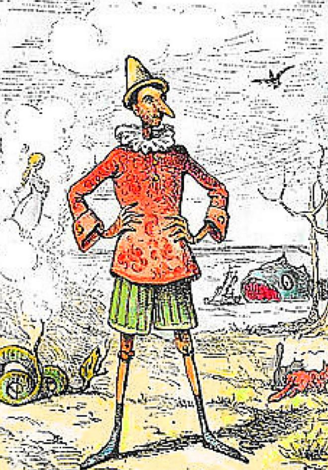 Pinocho cuento infantil - Las aventuras de Pinocho