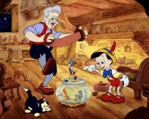 Pinocho versión Disney