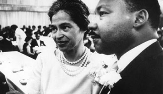 El sueño de Martin Luther King - junto a Rosa Parks