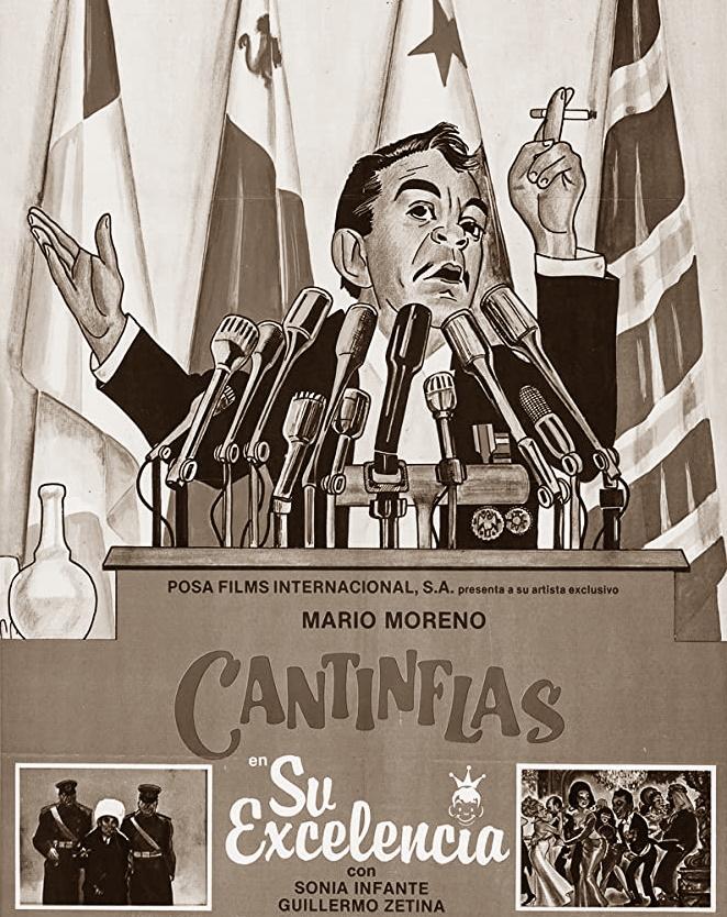 Cantinflas y el discurso del embajador