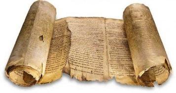 Historia de la lengua escrita: un libro de pergamino