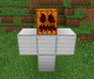 Construir un golem en Minecraft