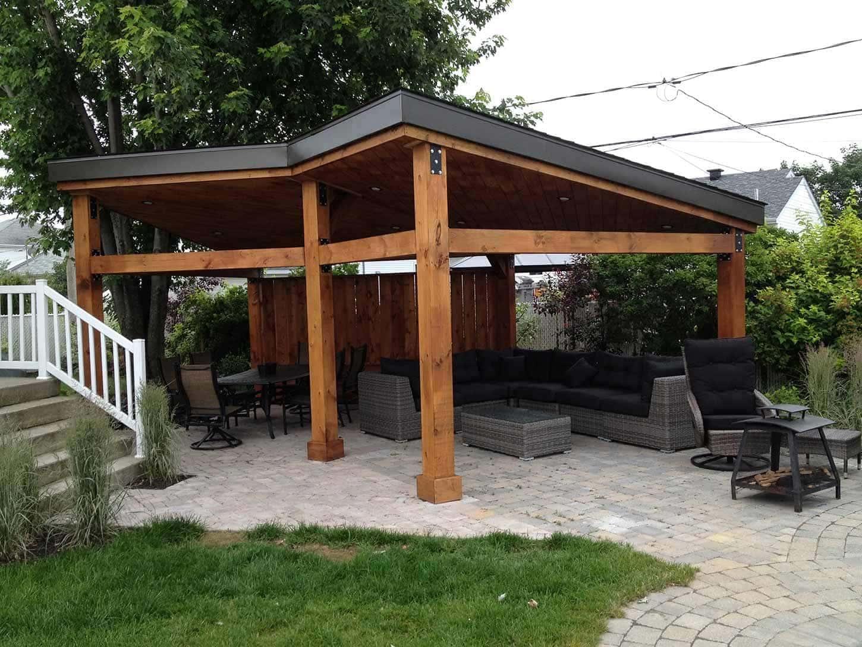 Gazebos -Custom build garden pavilions - Pur Patio on Outdoor Patio Pavilion id=26743
