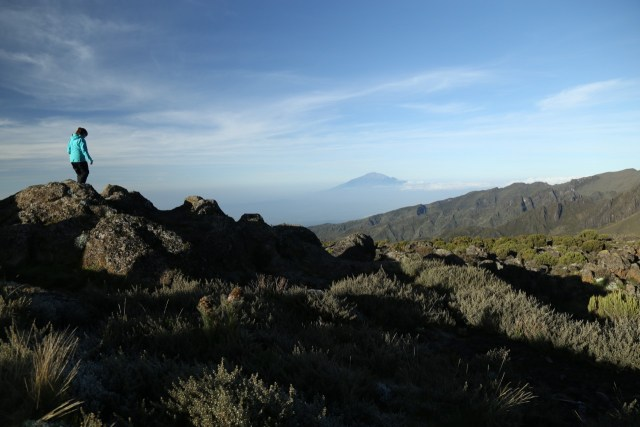 Breakfast on Kilimanjaro!