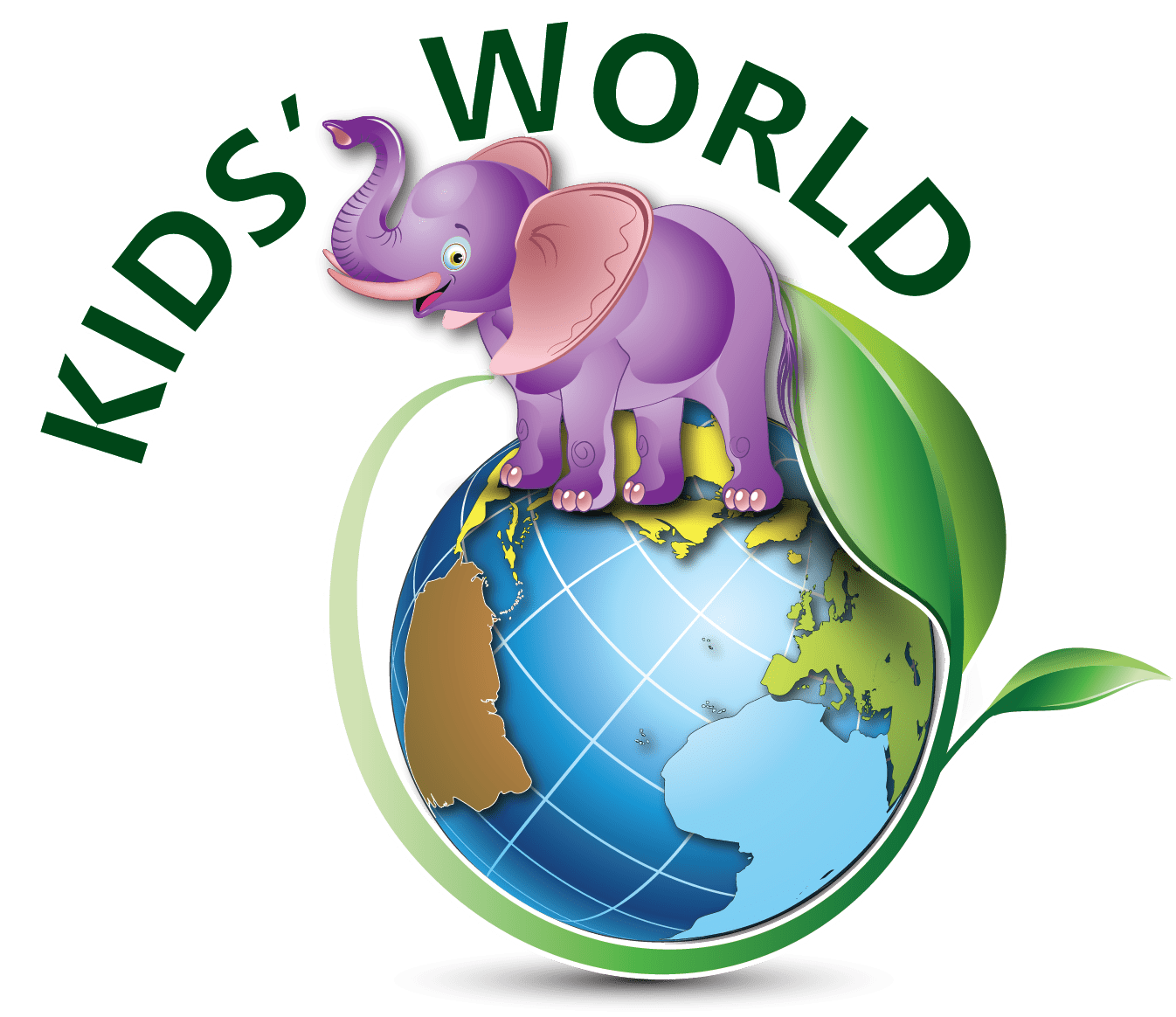 Home Purple Elephant Kids World