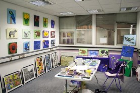 More of my 3D Acrylic Paintings up in my studio