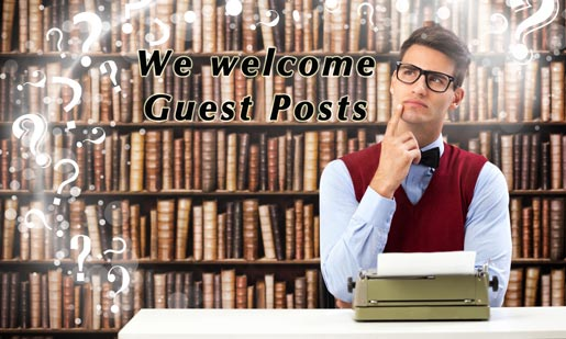 We welcome Guest Posts