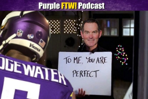 Purple FTW! - Zimmer Loves Teddy and Vikings Draft Simulation (ep. 365)