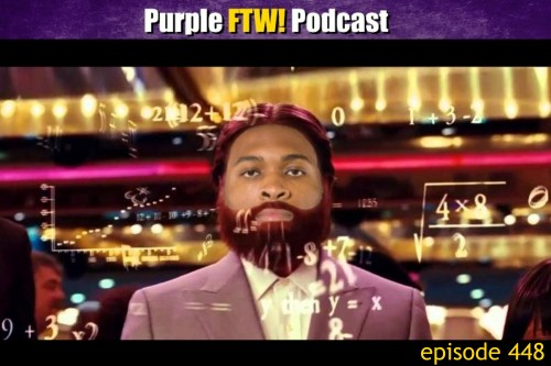 Purple FTW! Podcast: Vikings Bye The Numbers + The Scoop feat. Darren Woflson (ep. 448)