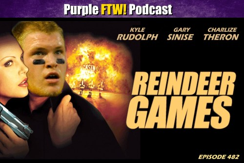 Purple FTW! Podcast: Reindeer Games feat. Alex Gelhar Plus Vikes Over Beers! (ep. 482)