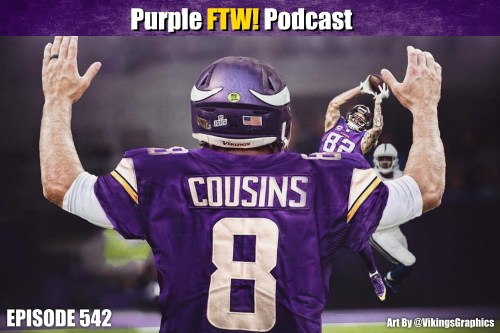 Purple FTW! Podcast: YOU LIKE DRAFT feat. Mark Schofield + #VikesOverBeers (ep. 542)