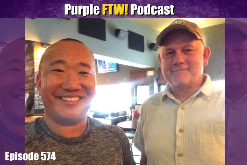 Purple FTW! Podcast: Vikings Summer Talkers with Joe Oberle (ep. 574)