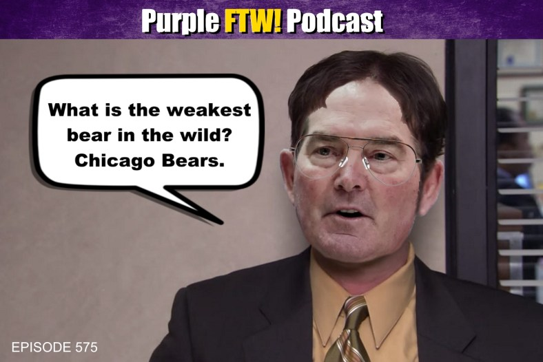 Purple FTW! Podcast: Vikes, Beets, Battlestar Galactica feat. Andrea Hangst + #VikesOverBeers (ep. 575)