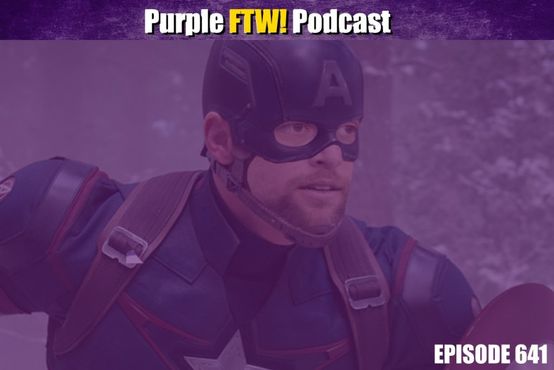 Purple FTW! Podcast: Vikings-Cardinals Recap - Captain Adamerica (ep. 641)
