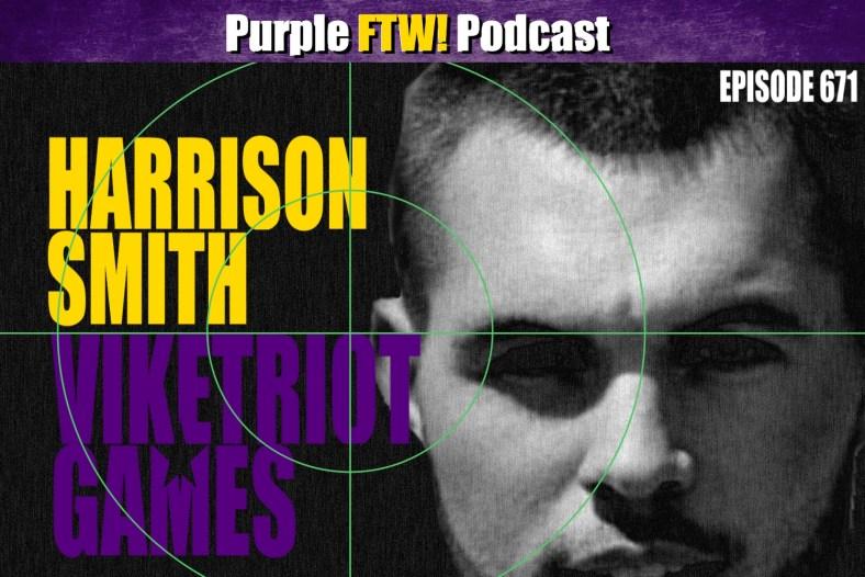 Purple FTW! Podcast: Vikings-Patriots Preview: Viketriot Games feat. Jordan Reid (ep. 671)