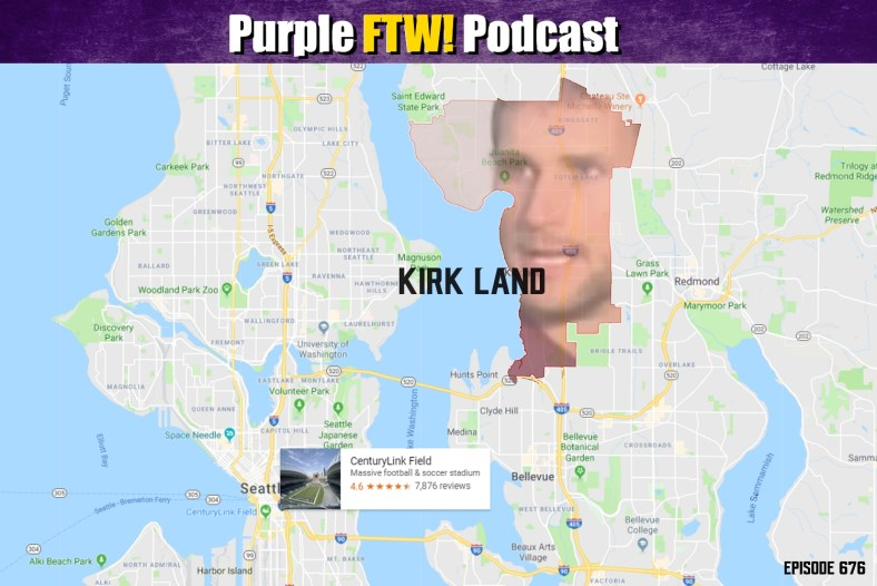 Purple FTW! Podcast: Vikings-Seahawks Preview: Kirk Land, Washington feat. Jordan Reid + Danny Kelly (ep. 676)