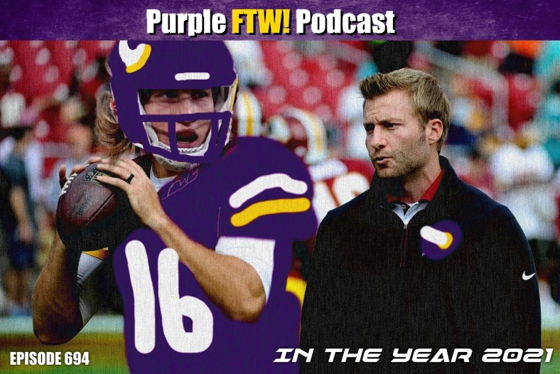Purple FTW! Podcast: Vikings Offensive Line Coach Wishlist. NFL Head Coaching Shuffle. #VikesOverBeers! (ep. 694)