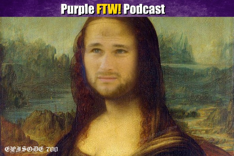 Purple FTW! Podcast: Monday Morning Pod - Vikings Hire Maalouf. Make PI Reviewable Again? Live 7-Round Fanspeak Mock Draft (ep. 700)