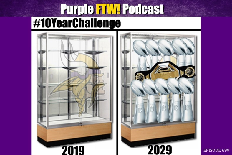 Purple FTW! Podcast: Monday Morning Pod - Super Bowl Matchup. LOL Saints. Vikings Free Agent WR3 Options. (ep. 699)